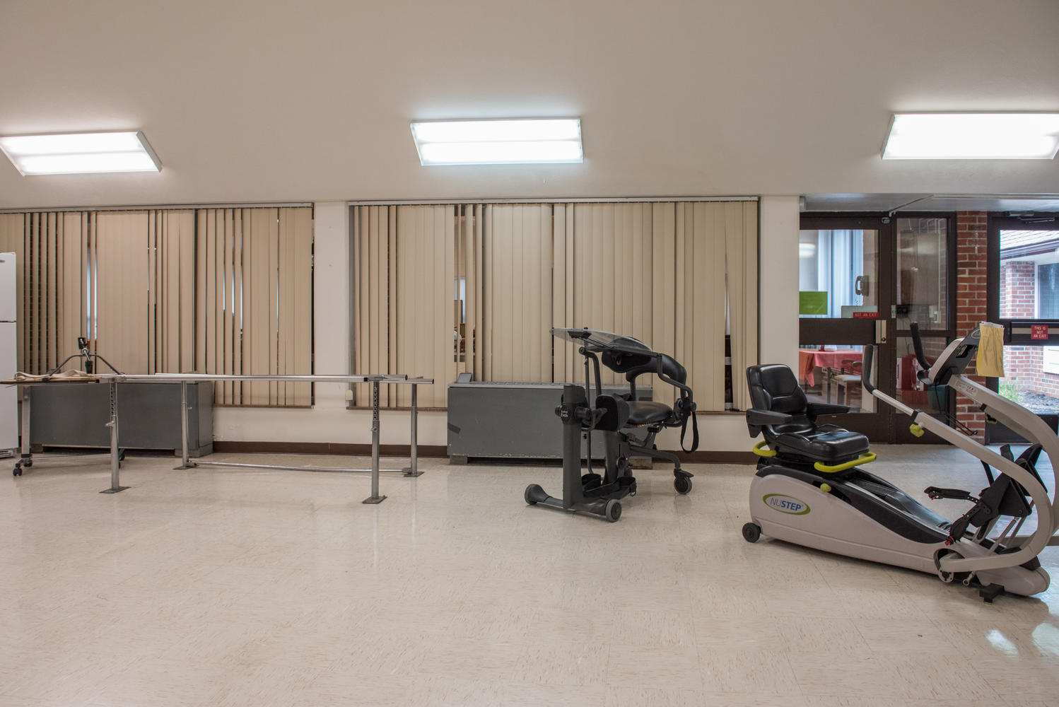 Stonerise Princeton Therapy and Rehabilitation area with equipment