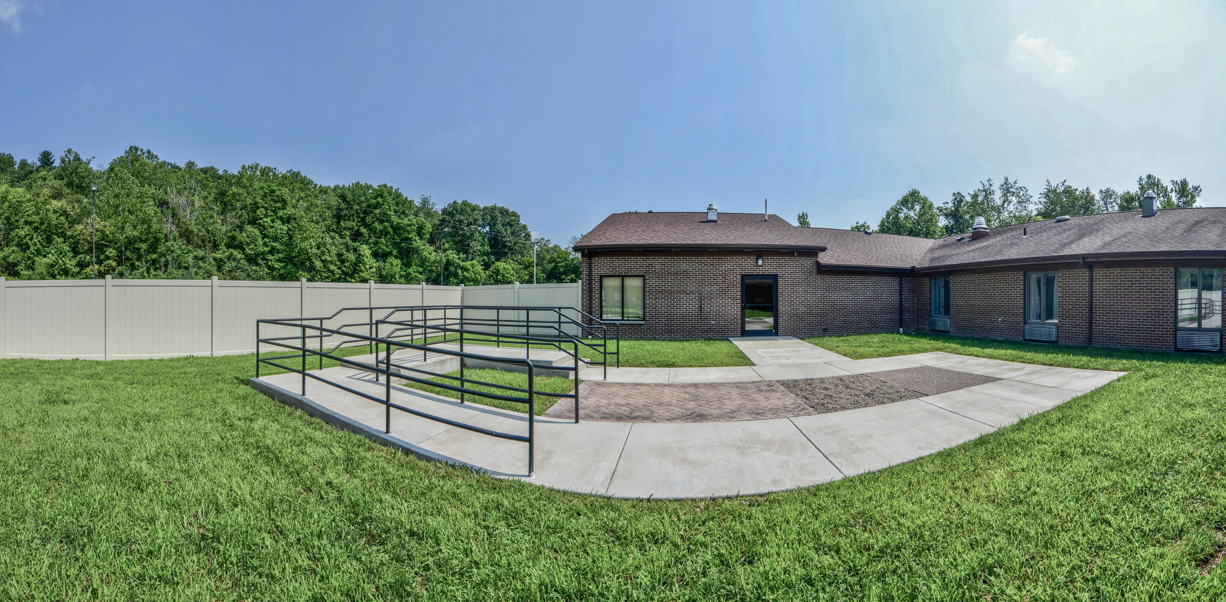 Walking surfaces for Physical Therapy and Rehabilitation outside Stonerise Clarksburg
