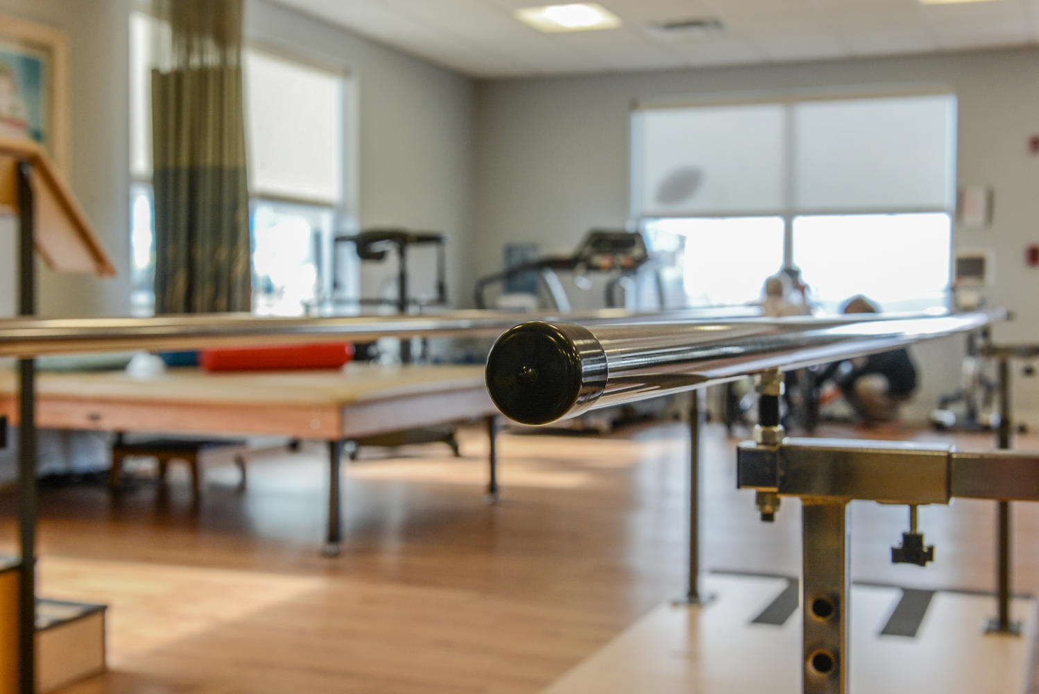 Physical Therapy equipment in Stonerise Morgantown Rehabilitation room